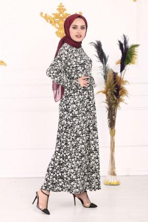Çıtır Çiçek Desen Elbise